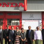 Honda Establishes After-Sales Service Center in Myanmar