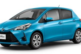 Toyota to Launch First Hybrid Model of Vitz