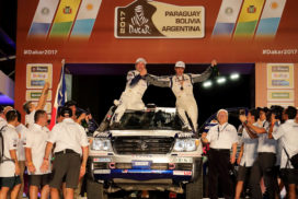 Toyota Auto Body Secures Fourth Consecutive Win at Dakar Rally