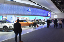 Detroit Auto Show 2017 Opens for Preview Showings