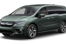 New Honda Odyssey With Cabin Talk Debuts at Detroit Auto Show 2017
