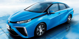 Toyota to Run Demonstration Trials of Mirai FCV Line in United Arab Emirates