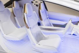 Interior Parts Suppliers Prepare for Next-Generation Automobiles