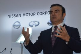 Ghosn Steps Down as Nissan President and CEO, Remains as Chairman