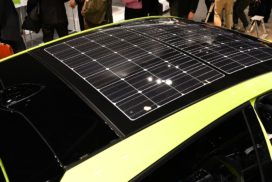 New Prius PHV Equipped With World's First Solar Charging System