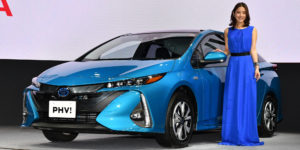 Toyota Revamps Prius PHV for First Time in Five Years