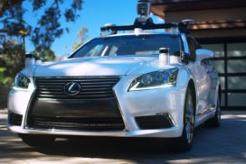 Toyota Showcases Self-Driving Test Vehicle in California