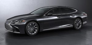 Toyota Equips Lexus LS500h With Automatic Steering Avoidance Feature