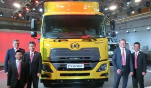 UD Trucks Launches Croner Medium-Duty Truck in Bangkok