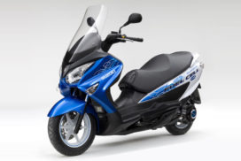 Suzuki Puts First Fuel Cell Scooter on Japanese Public Roads