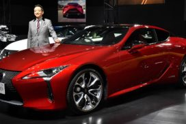 Toyota Launches New Lexus LC as New Flagship Coupe