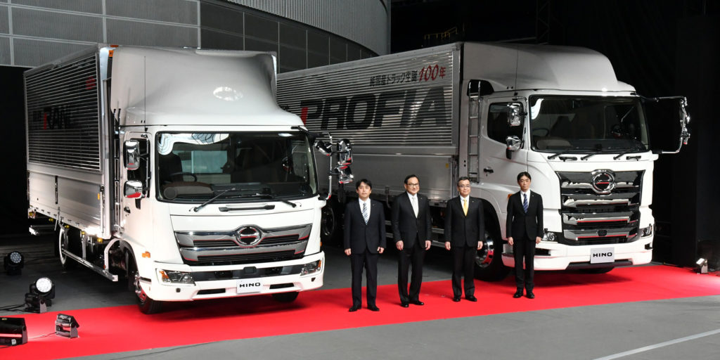 Hino Improves Truck Comfort Operability With Full Upgrades To Profia And Ranger Models