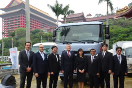 Mitsubishi Fuso Consolidates Operations in Taiwan