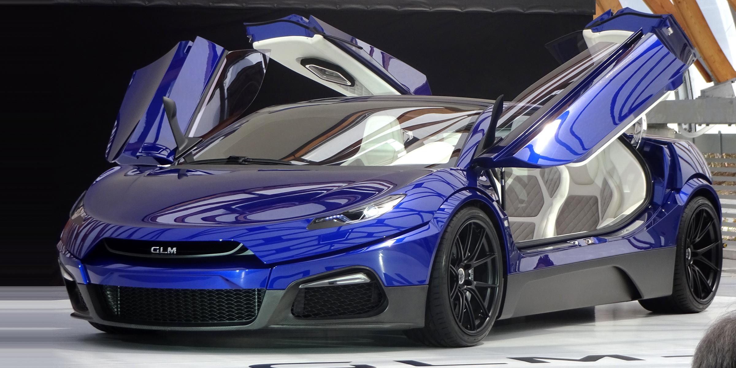 Glm To Launch 40 Million Yen Ev Supercar In 2019 Japan