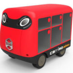Amid Labor Shortage, ZMP Develops Door-to-Door Delivery Robot