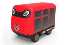 Amid Labor Shortage, ZMP Develops Door-to-Door Delivery Robot