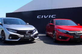 Honda Unveils Japanese Version of New Civic