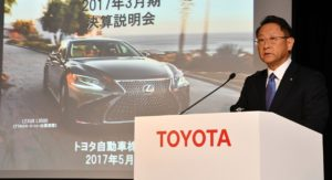 Toyota Posts Decline in Both Sales and Profit for First Time in Five Years
