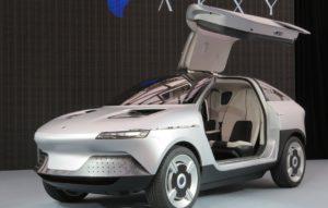 Asahi Kasei Unveils Akxy EV Concept Car