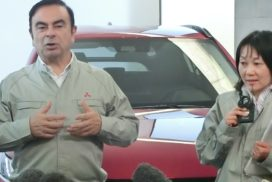 Ghosn Expresses Confidence in New Mitsubishi MPV