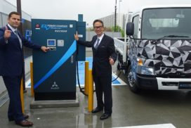 Mitsubishi Fuso Gets Ball Rolling on EV Trucking Infrastructure
