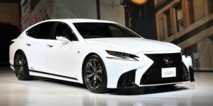 Toyota Unveils All-New Lexus LS Featuring Advanced Safety System