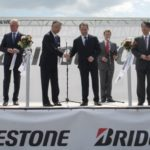 Bridgestone Holds Opening Ceremony for New Tire Factory in Russia