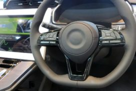 Nihon Plast Develops Steering Wheel-Embedded Speaker Unit for Alerting Drivers