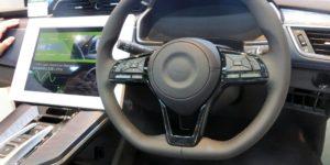 Nihon Plast Develops Steering Wheel-Embedded Speaker Unit for Alerting Drivers