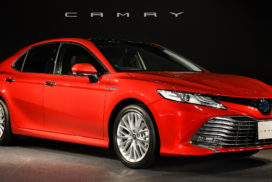 Toyota Launches Fully Redesigned Camry – First Time in Six Years