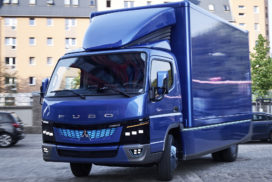 Mitsubishi Fuso to Launch EV in Each Truck Class by 2020