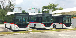 NEDO Begins Demonstration Tests of Large Electric Buses in Malaysia