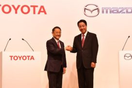 Toyota and Mazda to Build $1.6B Production Plant in US, Partner up on EV Development