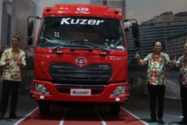 UD Trucks Unveils New Kuzer Light-Duty Truck for Indonesian Market