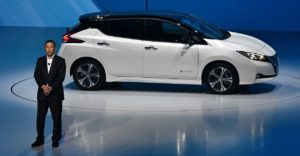 Nissan Unveils Next-Gen Leaf With ProPilot Self-Driving Technology