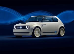 Honda's New Urban EV Concept Car Makes World Debut