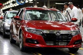 Honda Begins US Production of New Accord, Looks to Add 300 New Jobs