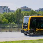 Continental Begins Autonomous Vehicle Test Runs