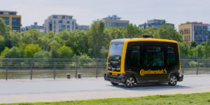 Continental Begins Autonomous Vehicle Test Runs
