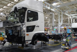 Hino Boosts Koga Plant Production by 20%