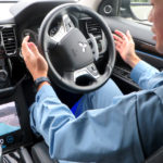 Mitsubishi Electric Unveils Self-Driving Car With Self-Sensing and Infrastructural Driving Technology