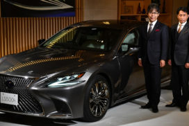 Toyota Makes Statement to European Luxury Car Rivals With Revamped Lexus LS
