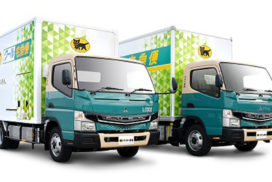 Mitsubishi Fuso Launches All-Electric eCanter Truck in UK