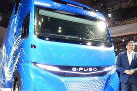 Mitsubishi Fuso Aims for EVs to Comprise 25% of All Sales by 2022