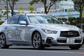 Nissan Begins Testing Autonomous Vehicle on Public Roads