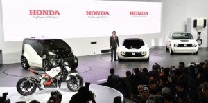 Honda to Launch Electric Car for Europe in 2019