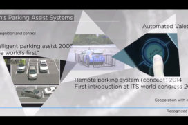 Aisin Seiki Plans to Produce a Feasible Automated Valet Parking Service by 2020