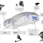 Aisin Seiki's New Air Suspension, Pneumatic Seat Systems Adopted for New Lexus LS