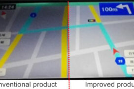 Dai Nippon Printing Develops New Car Display Film to Control Light Diffusion