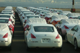 Japan's Passenger Car Exports up 18% Year-on-Year for April
